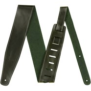 """2.5"""" Leather Strap - Green"""