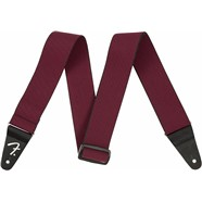 Fender® WeighLess™ Tweed Strap - Red