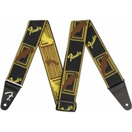 Fender® WeighLess™ Monogram Strap - Multi-Color