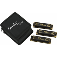 Fender® Blues DeVille Harmonicas - 3-Pack with Case -