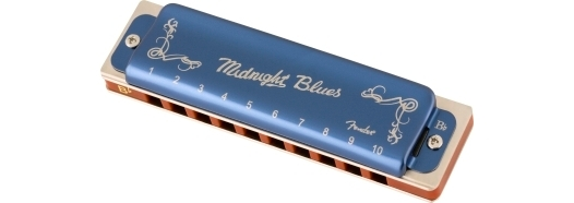 Fender® Midnight Blues Harmonica -