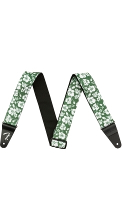 "2"" Hawaiian Strap - Green Floral"