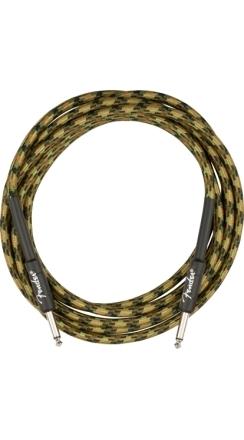Professional Series Instrument Cable, Camo - Woodland Camo