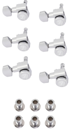 Locking Stratocaster®/Telecaster® Tuning Machines, Left-Handed -