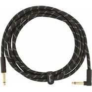 Deluxe Series Instrument Cable, Tweed - Black Tweed