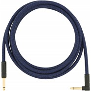 Angled Festival Instrument Cable, Blue - Blue Dream