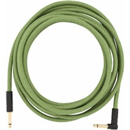 Festival Hemp Instrument Cables - Green