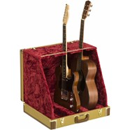 Classic Series Case Stand - 3 Guitar - Tweed