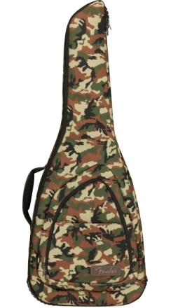 FE920 Camo Electric Guitar Gig Bag - Woodland Camo