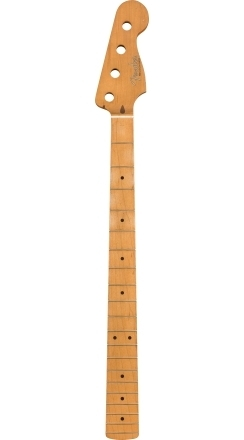 Road Worn® '50's Precision Bass® Neck, 20 Vintage Frets, Maple, C Shape -