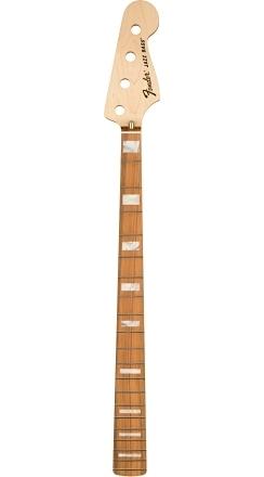 Classic Series 70's Jazz Bass® Neck, 20 Medium Jumbo Frets, Block Inlay, Pau Ferro -