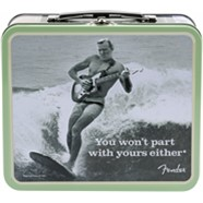 "Fender™ Lunchbox, ""You Won't Part With Yours Either"" with Accessories -"