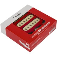 Fender Vintage Noiseless™ Strat® Pickups - Aged White