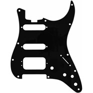 Elite Strat® HSS Pickguards - Black