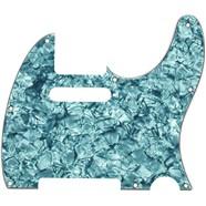 Telecaster® Pickguard - Turquoise Moto