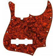 Jazz Bass® Pickguard - Orange Moto