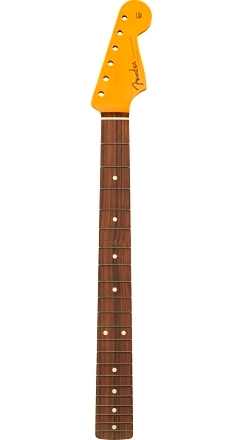 Classic 60's Stratocaster Neck Lacquer, 21 Vintage Frets, Pau Ferro, C Shape -