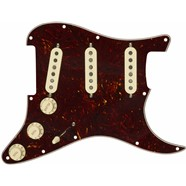 Pre-Wired Strat® Pickguard, Custom Shop Fat 50's SSS - Tortoise Shell