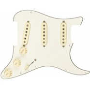 Pre-Wired Strat® Pickguard, Custom Shop Fat 50's SSS - Parchment