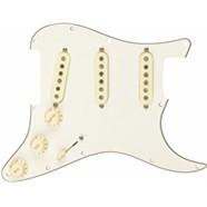 Pre-Wired Strat® Pickguard, Custom Shop Fat 50's SSS - Parchment
