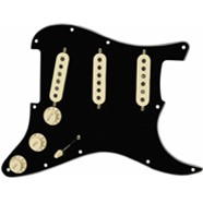 Pre-Wired Strat® Pickguard, Tex-Mex SSS - Black