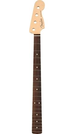 "American Professional Precision Bass Neck, 20 Narrow Tall Frets, 9.5"" Radius, Rosewood -"