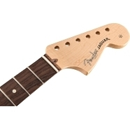 "American Professional Jaguar Neck, 22 Narrow Tall Frets, 9.5"" Radius, Rosewood -"