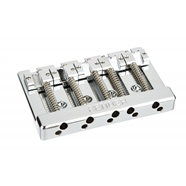 Fender® HiMass™ 5-String Bass Wide Bridge Assembly With Zinc Saddles -