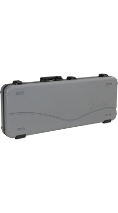 Deluxe Molded Strat/Tele Case, Silver/Blue -