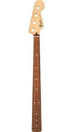 Standard Series Jazz Bass® Neck, 20 Medium Jumbo Frets, Pau Ferro -