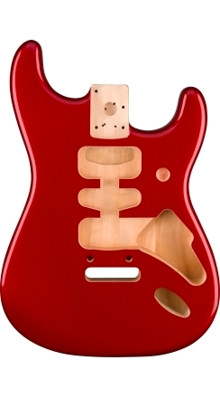 Deluxe Series Stratocaster® Alder Body - Candy Apple Red