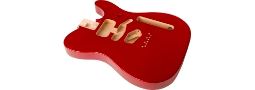 Deluxe Series Telecaster® Alder Body - Candy Apple Red