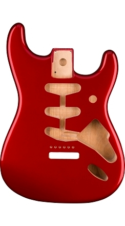 Classic Series 60's Stratocaster® SSS Alder Body Vintage Bridge Mount - Candy Apple Red -