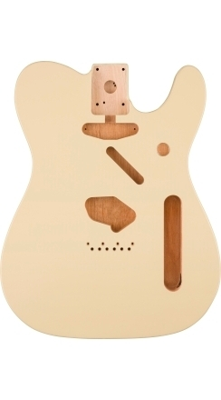 Classic Series 60's Telecaster® SS Alder Body Vintage Bridge Mount - Olympic White -