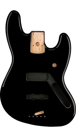 Standard Series Jazz Bass® Alder Body - Black -