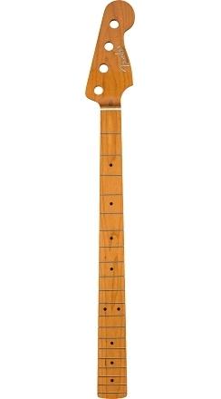 "Roasted Maple Vintera® '50's Precision Bass® Neck, 20 Vintage Frets, 7.25"", ""C"" Shape -"