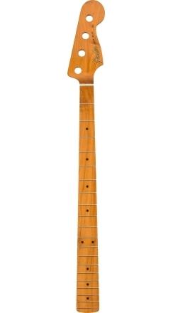 """Roasted Maple Vintera® '60's Jazz Bass® Neck, 20 Vintage Frets, 7.25"""", """"C"""" Shape -"""