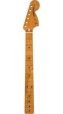 "Roasted Maple Vintera® Mod '70's Stratocaster® Neck, 21 Medium Jumbo Frets, 9.5"", ""C"" Shape -"