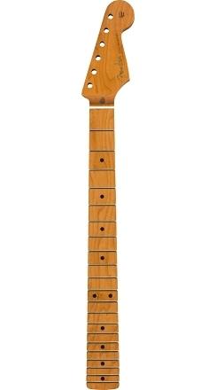 "Roasted Maple Vintera® Mod 50's Stratocaster® Neck, 21 Medium Jumbo Frets, 9.5"", ""V"" Shape -"