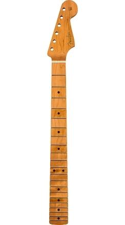 "Roasted Maple Vintera® Mod '60's Stratocaster® Neck, 21 Medium Jumbo Frets, 9.5"", ""C"" Shape -"