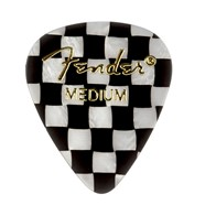 Fender® 351 Shape Graphic Picks (12 per pack) - Checker