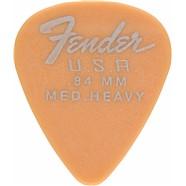 Fender Dura-Tone® Delrin Pick, 351-shape, 12-Pack - Butterscotch Blonde