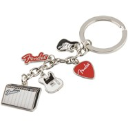 Fender™ Multi-Icon Keychain -