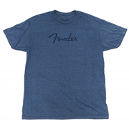 Fender® Distressed Logo Premium T-Shirt - Blue Heather
