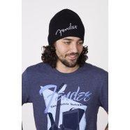 Fender® Logo Beanie, Black -