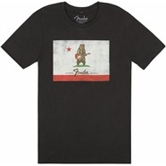 Fender® Bear Flag T-Shirt - Black