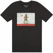 Fender® Bear Flag T-Shirt - Coal
