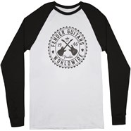 Fender® Seal Men's Raglan T-Shirt - White and Black