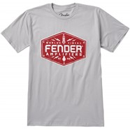 Fender® Bolt Down T-Shirt, Silver - Silver