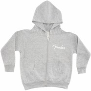 Fender® Toddler Zip Hoodie - Gray